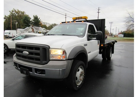 2005 FORD F450 SUPER DUTY FLAT BED $8995
