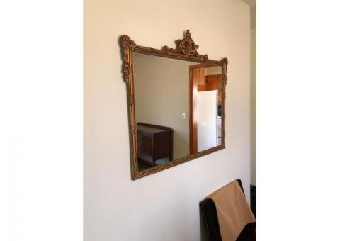 PRICE REDUCTION ~ Vintage/Antique Gold Mirror